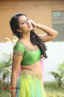 Actress Nikitha Bisht Stills in Lehenga Choli at Pochampally Ikat Art Mela Launch  0205.JPG