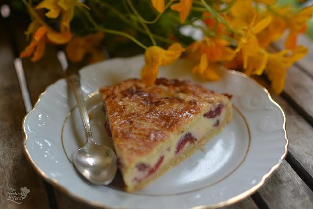 pastel vasco gateau basque con cerezas 03