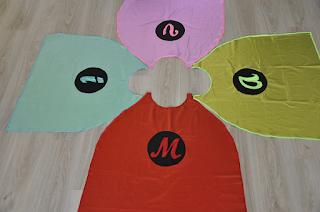 capas de superheroe hechas a mano
