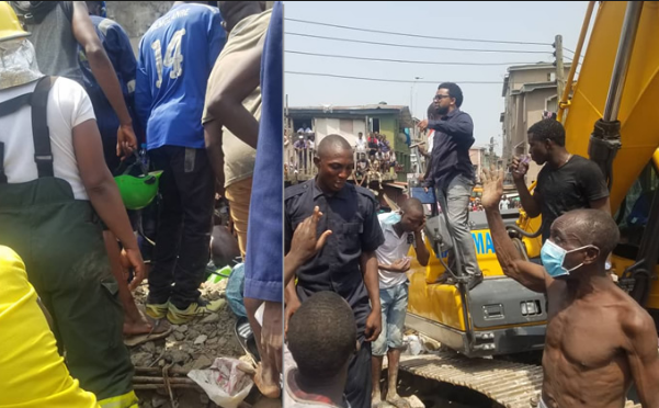 How A Teacher Survived Under Lagos Collapsed Building For Three Hours