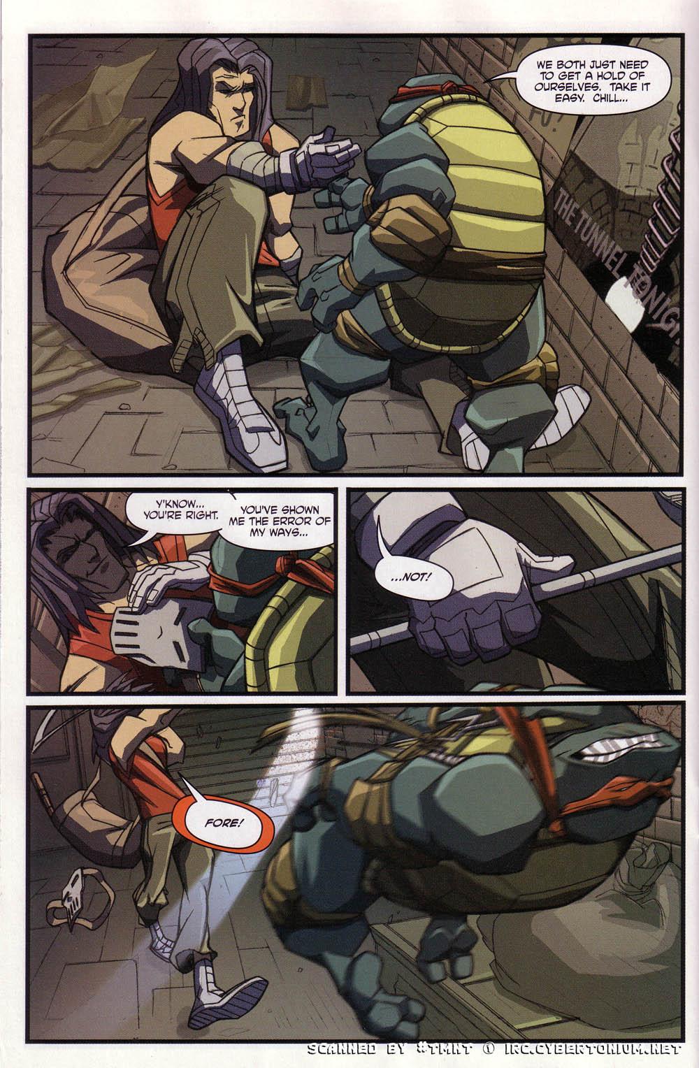 Teenage Mutant Ninja Turtles (2003) issue 4 - Page 18