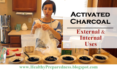 Activated Charcoal: Internal & External Uses - A Life Saving Substance!