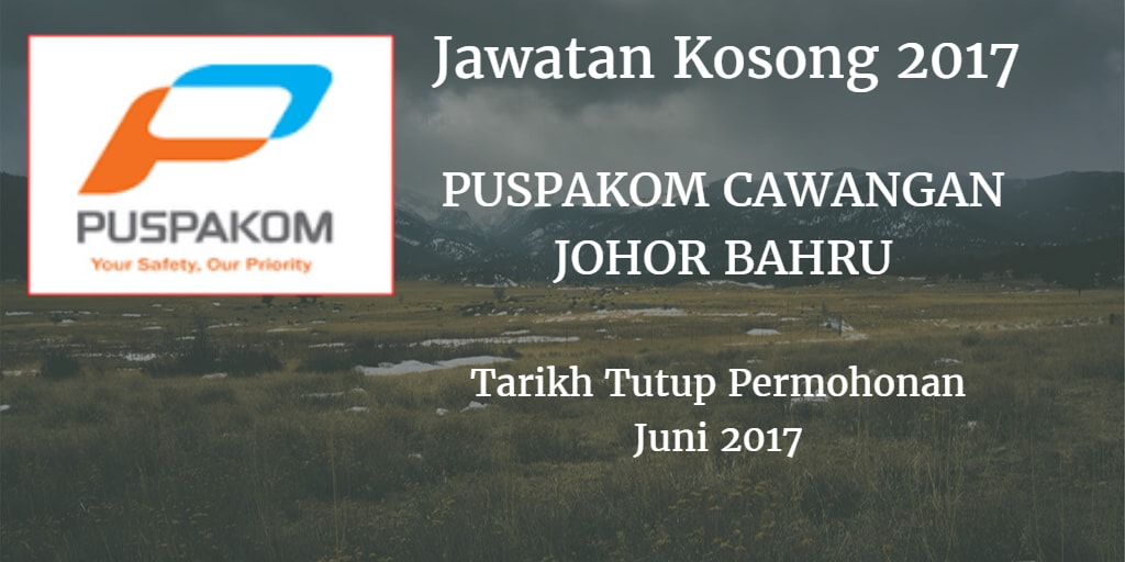 Jawatan Kosong PUSPAKOM SDN BHD 23 Juni 2017