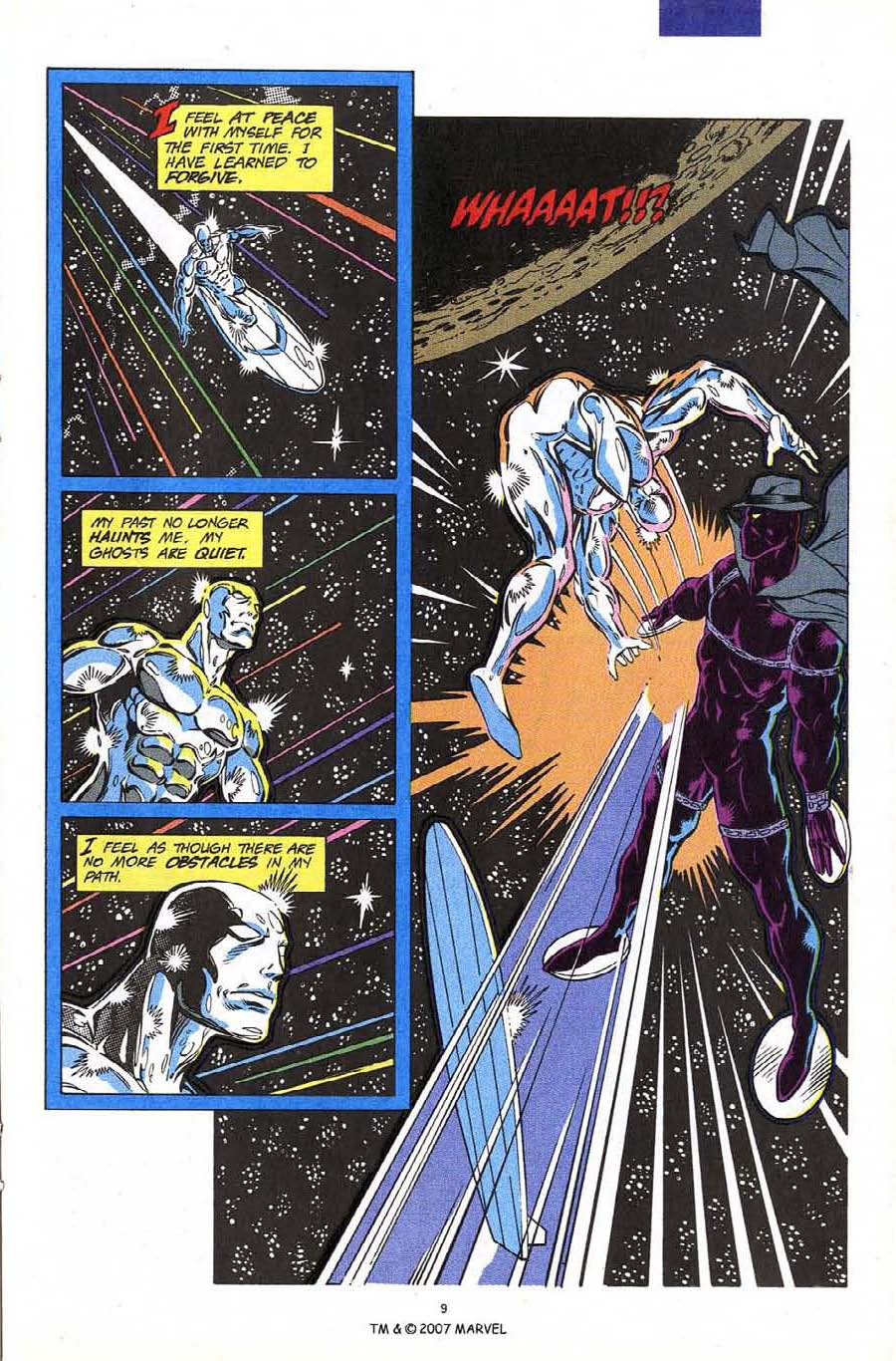 Read online Silver Surfer (1987) comic -  Issue #60 - 11