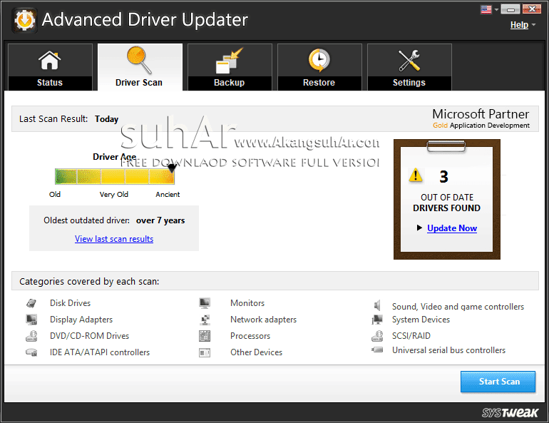Download Advanced Driver Updater full version