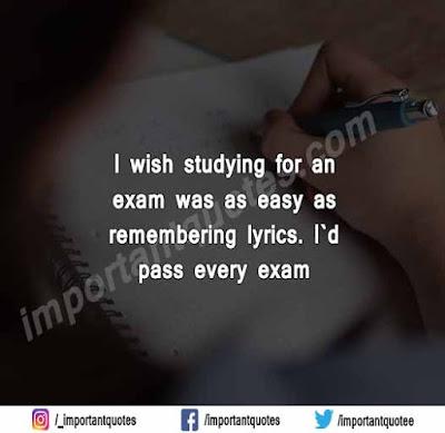Exam Status In English For Whatsapp