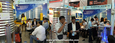 Grain storage solution showed on the 119th Canton fair