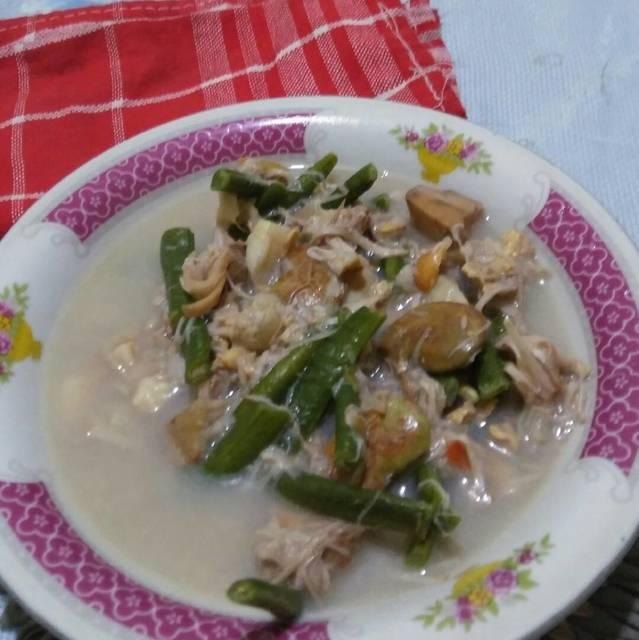 Resep lodeh nangka muda kacang panjang ala rumah makan ciwidey