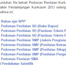 Panduan Penilaian Kurikulum 2013 Permendikbud No 53 Tahun 2015 untuk SD,SMP,SMA,dan SMK