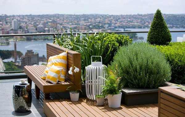 Greatest Rooftop Garden Design for Beautiful Rooftop Patio Idea