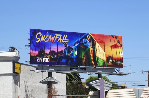 Snowfall season 2 billboard