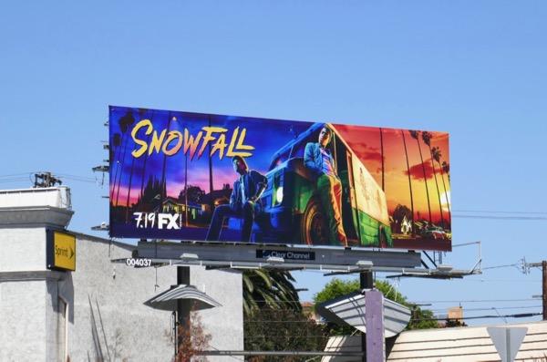 Snowfall season 2 billboard