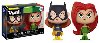 SDCC Exclusive Batgirl + Poison Ivy Vynl.