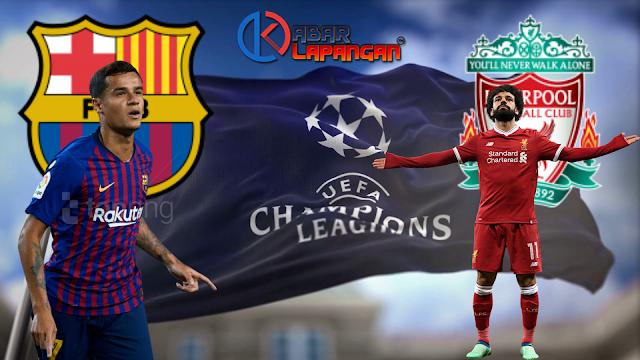Prediksi Bola Barcelona vs Liverpool Liga Champions