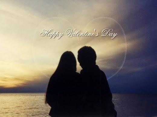 Romantic Happy Valentines Day Wallpaper
