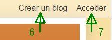 Utilidades de la barra de navegación para usuarios