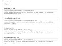 Mengaktifkan CDN Bootstrap dan Kompres HTML  Untuk Meningkatkan Kecepatan Website Drupal