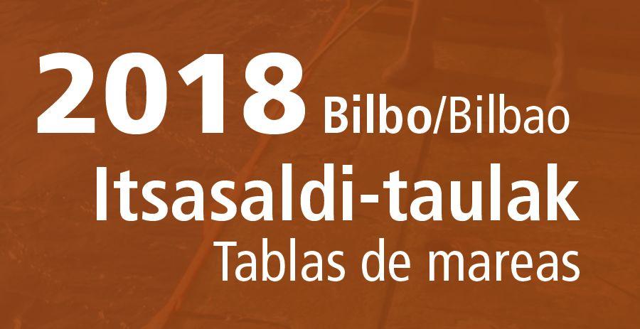 tabla de mareas bilbao 2018