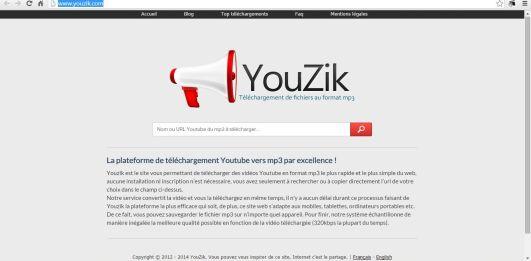Télécharger et convertir une vidéo Youtube, Dailymotion au format MP3 telecharger mp3 , youtube , rapide , lien url , en mp3