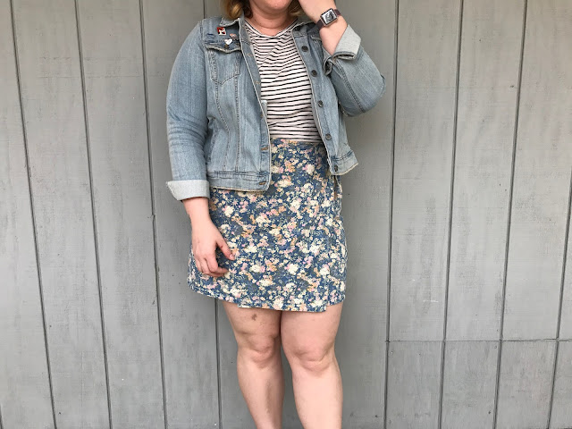 denim jacket, spring fashion, 90s fashion, ootd