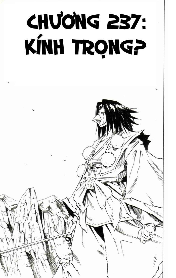 Shaman King [Vua pháp thuật] chap 237 trang 3