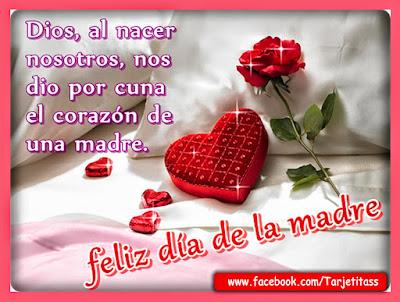 Imagenes corazones y flores con frases para las mamas