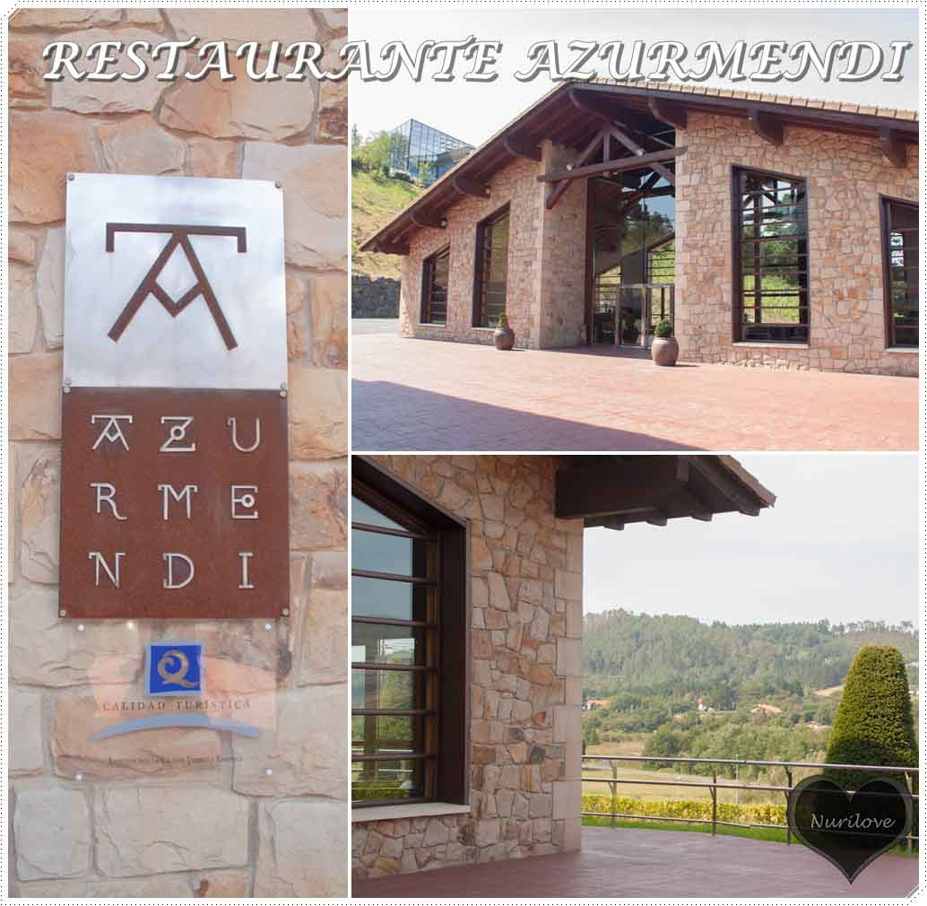 restaurante azurmendi, muy conocido en Vizcaya, de la mano de Eneko Atxa y con estrellas michelin