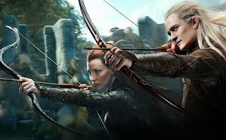ตัวอย่างหนังใหม่ : The Hobbit:The Desolation of Smaug (ดินแดนเปลี่ยวร้างของสม็อค) ตัวอย่างที่ 2 ซับไทย banner Legolas and Tauriel