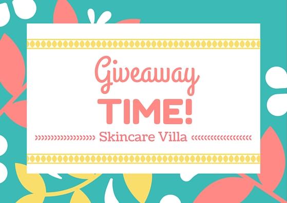 SkincareVilla 1K Facebook Likes Giveaway - Win goodies worth 1K