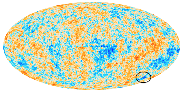 Cosmological mystery solved by map of voids and superclusters