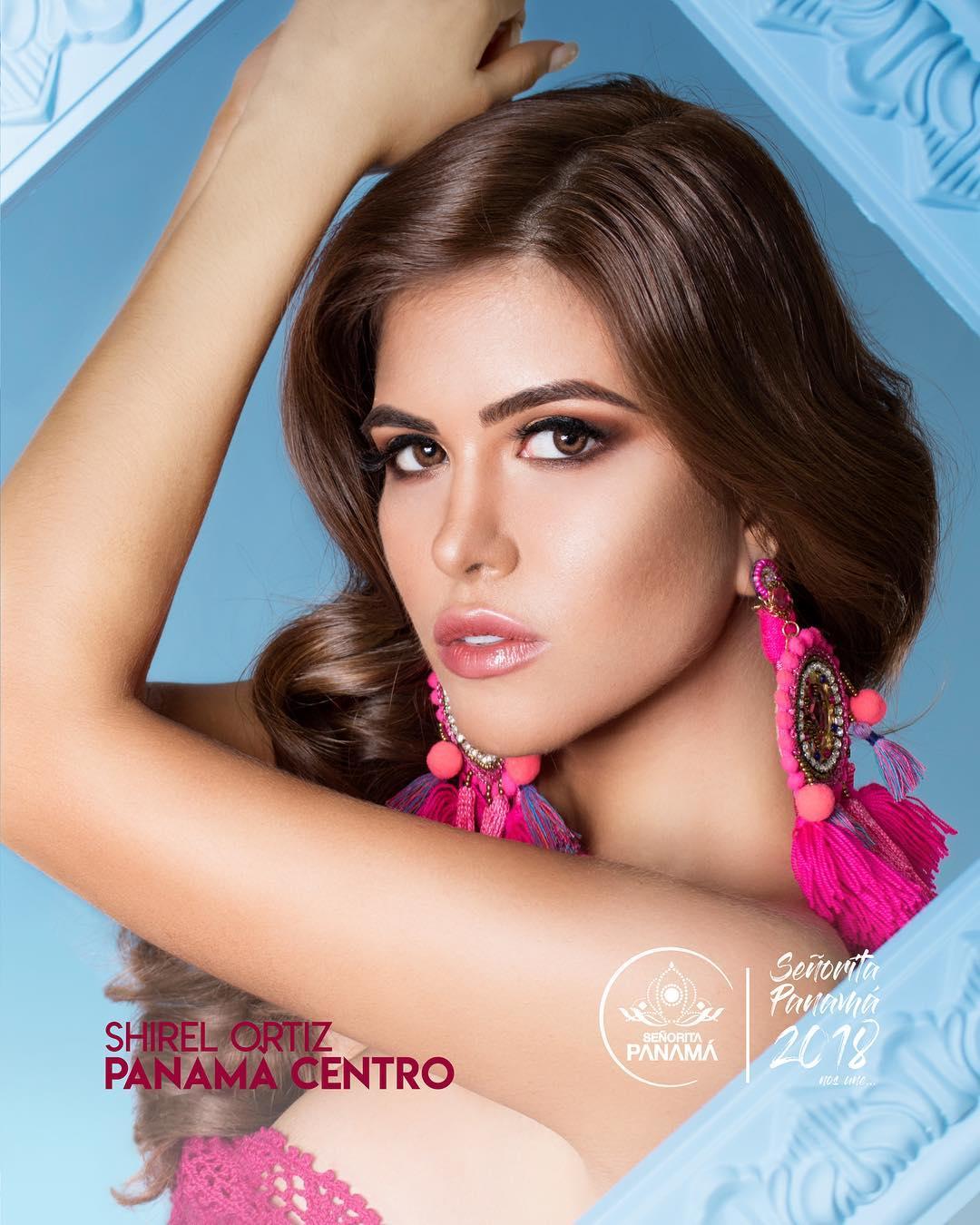 señorita miss colombia 2018 candidates candidatas contestants delegates Miss Panamá Centro Shirel Ortíz