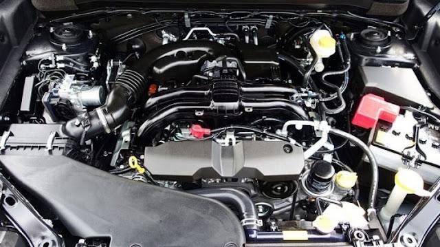 2017 Subaru VIZIV-7 SUV Engine