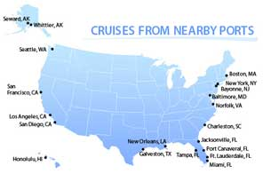 Cruises From Nearby Ports