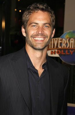 PAUL WALKER SHORT CASUAL WAVY HAIRCUT