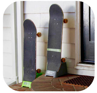 home skateboard rack