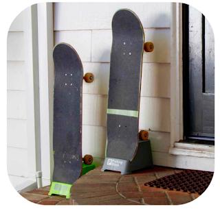 home skateboard rack