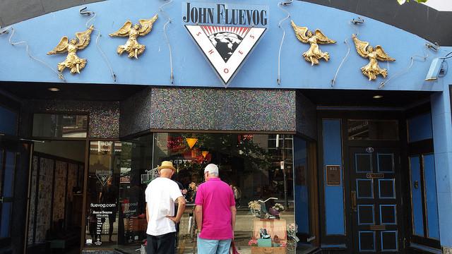 John Fluevog store in Vancouver BC
