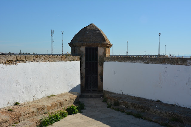 Wall of San Carlos Cadiz