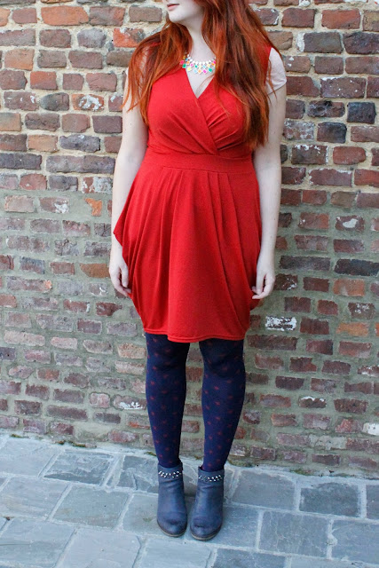 Tenue du jour : Red riding