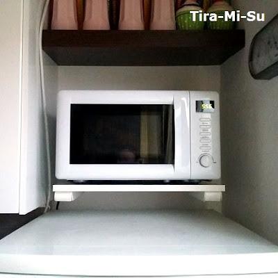 blogworld of tira mi su modifizierte mikrowellenhalterung. Black Bedroom Furniture Sets. Home Design Ideas