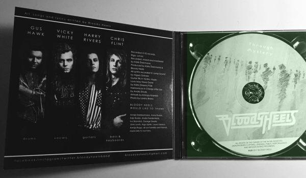BLOODY HEELS - Through Mystery [digipak] (2017) disc