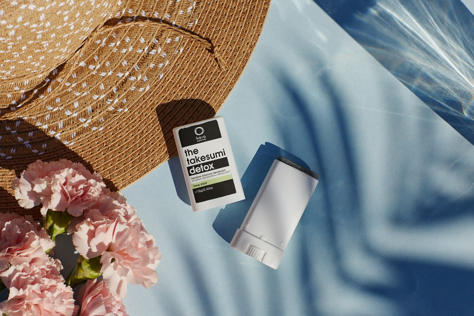Kaia Naturals Takesumi Detox Bamboo Charcoal Deodorant Lime Mint review summer sweat proof natural organic nontoxic eco hellolindasau
