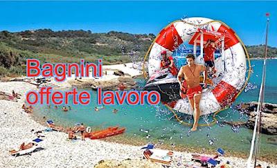 Lavoro per bagnini di salvataggio (adessolavoro.blogspot.com)