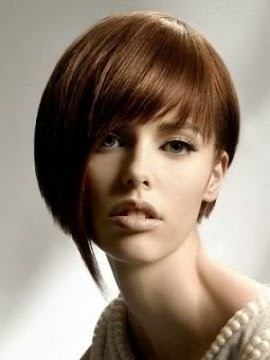 asymetrical short hairstyles