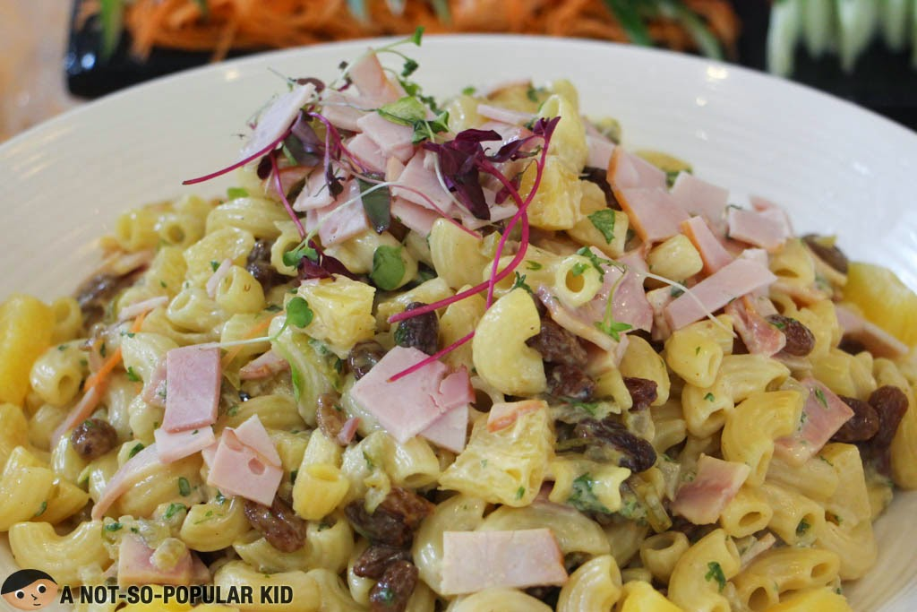 The Macaroni and Ham Salad of F1 Hotel Manila