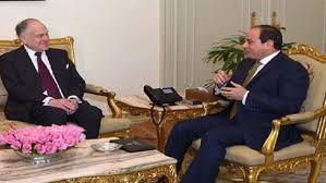 الرئيس السيسي: المصالحة الفلسطينية ضرورية لمحادثات السلام الفلسطينية - الإسرائيلية