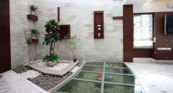 Kolam Ikan Minimalis dalam Rumah - Budidaya Ikan