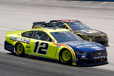The Ford Mustangs showed a lot of speed on Sunday during the #NASCAR Cup Series, O'Reilly Auto Parts 500