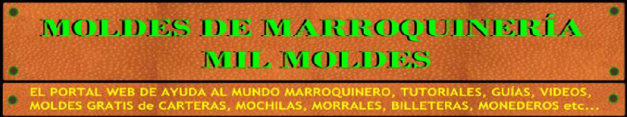 MOLDES DE MARROQUINERÍA - MIL MOLDES