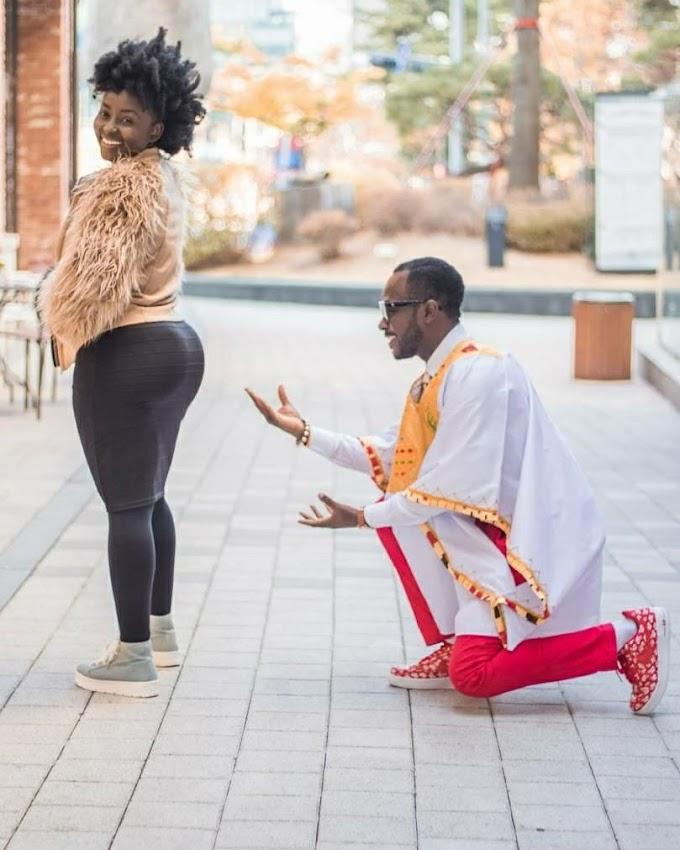 Okyeame Kwame celebrates wife on their 9th anniversary